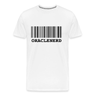 T-Shirts ~ Men's Premium T-Shirt ~ ORACLENERD Barcode