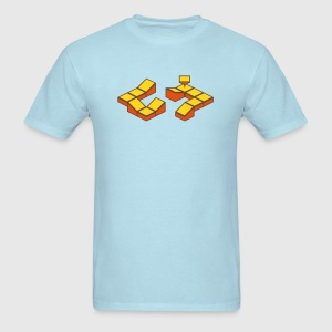 Sky blue Dizzy Spinner T-Shirts - Men's T-Shirt