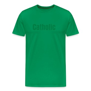 OLOP|shop Men's Catholic Tee - Men's Premium T-Shirt