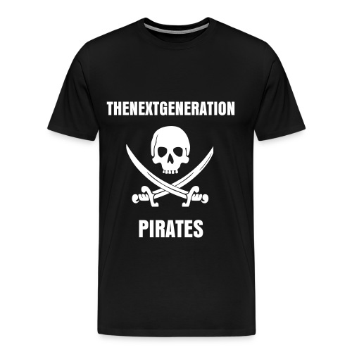 TNG Pirates Tee - Men's Premium T-Shirt