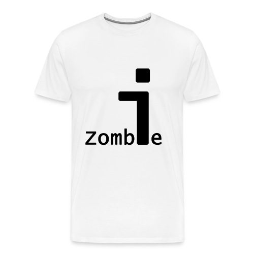 Notepad Zombie v2 - Men's Premium T-Shirt