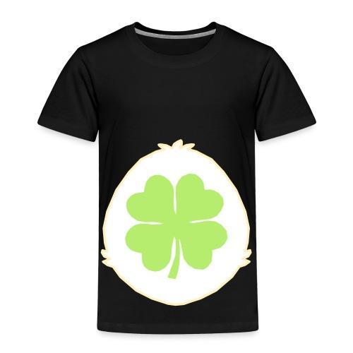 Lucky Bear Tummy - Toddler Premium T-Shirt