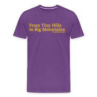 T-Shirts ~ Men's Premium T-Shirt ~ Mens Hills to Mountains