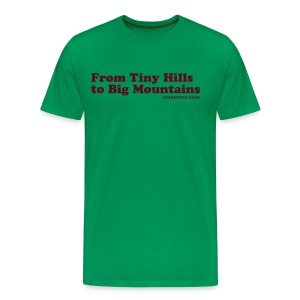 Mens Hills to Mountains - Men's Premium T-Shirt