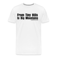 T-Shirts ~ Men's Premium T-Shirt ~ Mens Hills to Mountains