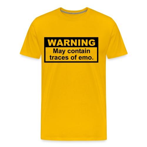 WARNING: Emo - Men's Premium T-Shirt