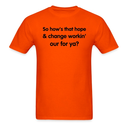 Men's T-Shirt - change,Hope