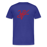 T-Shirts ~ Men's Premium T-Shirt ~ Men's Front USA Back LV