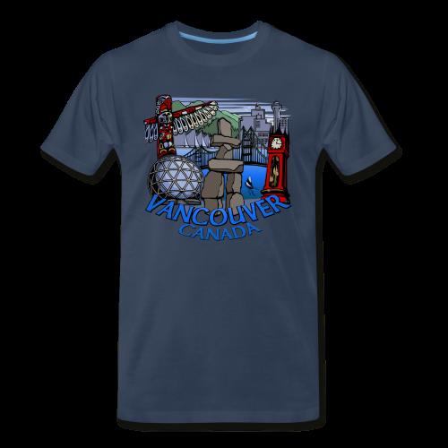 Vancouver T-shirt Ladies Vancouver Canada Shirt - Men's Premium T-Shirt