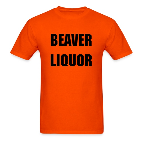 Beaver Liquor - Men's - Men's T-Shirt