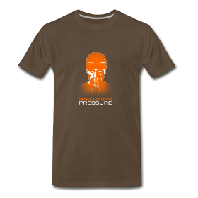 Make Love to Pressure T-Shirt - Men's Heavyweight ~ 1850
