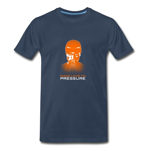 Make Love to Pressure T-Shirt - Men's Heavyweight - Men's Premium T-Shirt