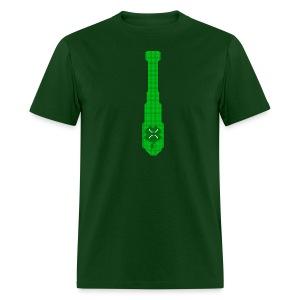Pixle St Patrick's Day Tie - Men's T-Shirt