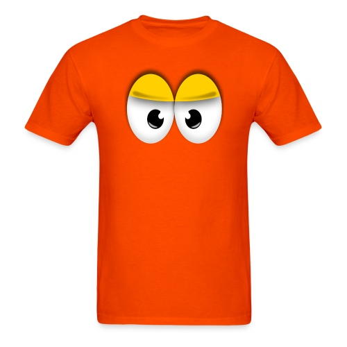 Cute Angry Yellow Eyes - Men's T-Shirt