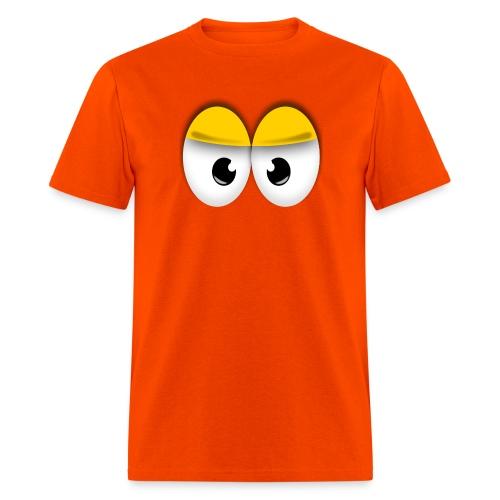 Cute Angry Yellow Eyes - Men's T-Shirt
