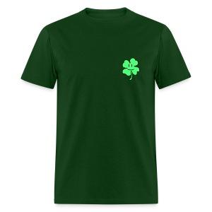 Small Mario Style Clover - Men's T-Shirt