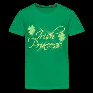 Kids' Shirts ~ Kids' Premium T-Shirt ~ Irish Princess, Girls St Patricks Day Shirt