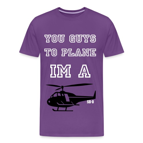 To Plane - Men's Premium T-Shirt