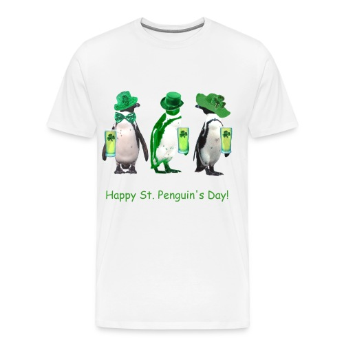 St Patty's or St. Penguin's? - Men's Premium T-Shirt