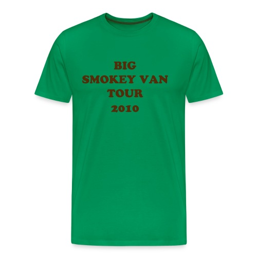 BIG SMOKEY VAN TOUR 10 - Men's Premium T-Shirt