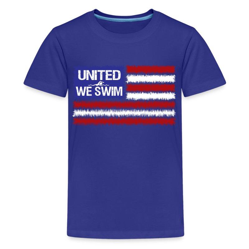 United We Swim T Shirt Spreadshirt