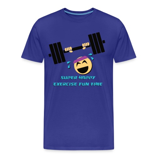 Super Happy Exercise Fun Time! - Men's Premium T-Shirt