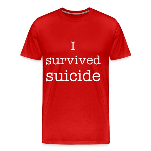 Suicide - Men's Premium T-Shirt