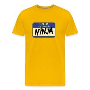 Ninja - Men's Premium T-Shirt
