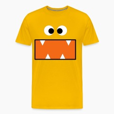 Gold monster T-Shirts