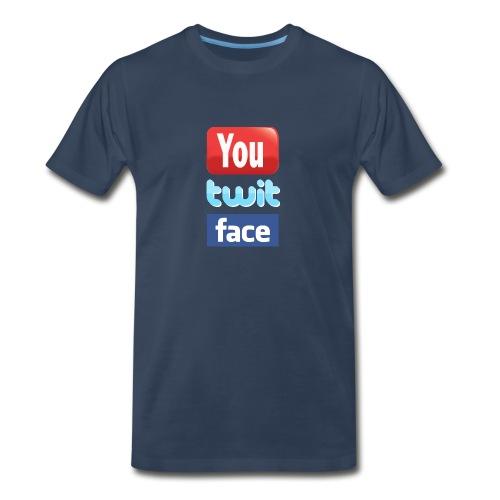 You twit face - Men's Premium T-Shirt