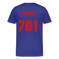 T-Shirts ~ Men's Premium T-Shirt ~ THORPE SHERSY BLEUE N RED