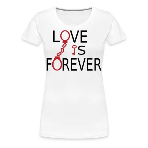 Love is Forever Plus Size - Women's Premium T-Shirt