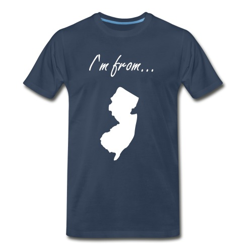 Where I'm from - Men's Premium T-Shirt