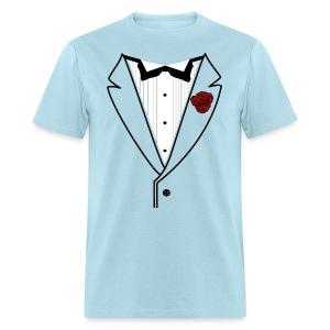 Custom Classic w/Black lined lapel - Men's T-Shirt