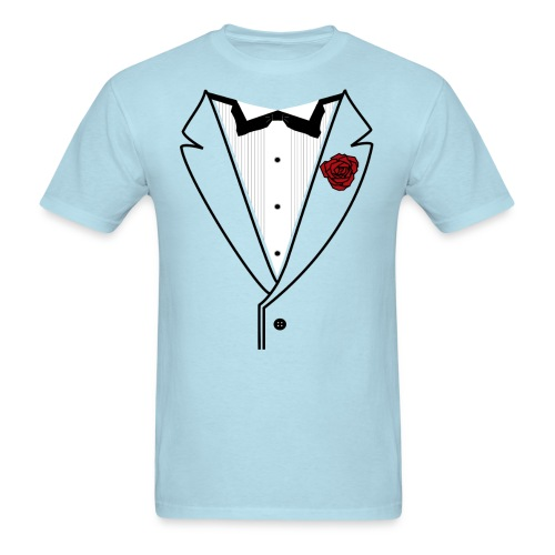 Custom Classic w/Black lined lapel - Men's T-Shirt