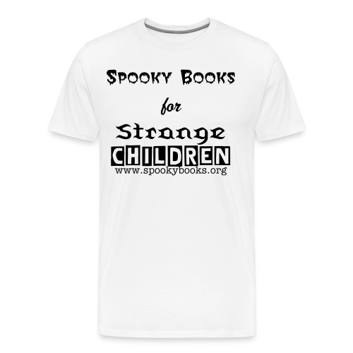Spooky Books T - Men's Premium T-Shirt