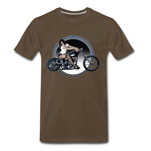 Chopper Girl Shirt - Men's Premium T-Shirt