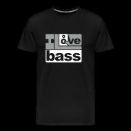 T-Shirts ~ Men's Premium T-Shirt ~ I Love Bass