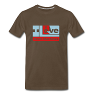 T-Shirts ~ Men's Premium T-Shirt ~ I Love Drum Machines