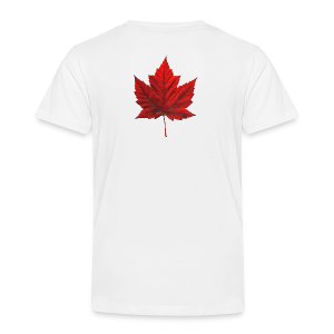 I Love Canada Toddler T-shirt Canada Flag Baby Shirt - Toddler Premium T-Shirt