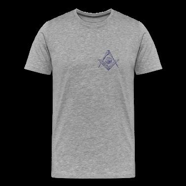 Ash  Square & Compasses T-Shirts