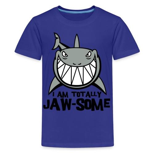 Kids Shirt - Jaw-Some Shark - Kids' Premium T-Shirt
