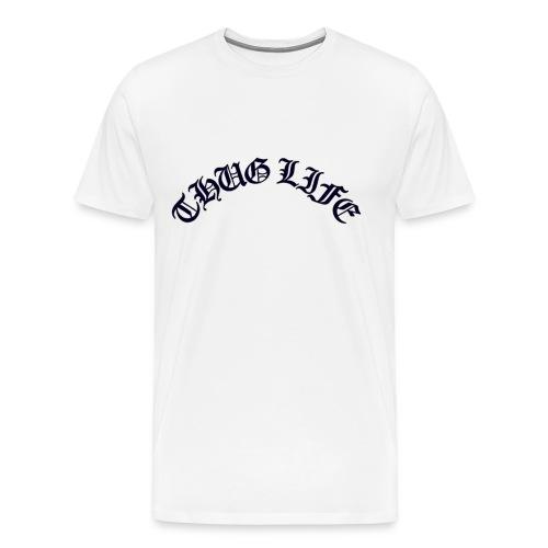 thuglife - Men's Premium T-Shirt