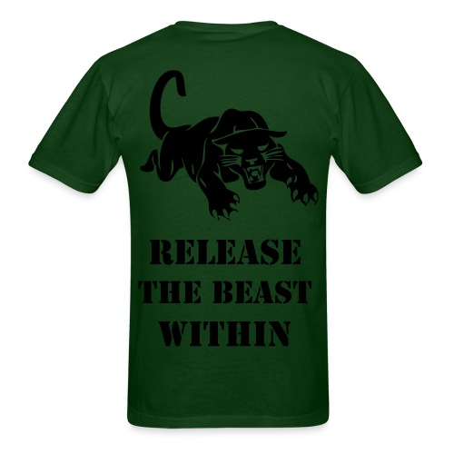 Release the Beast Original - Men's T-Shirt