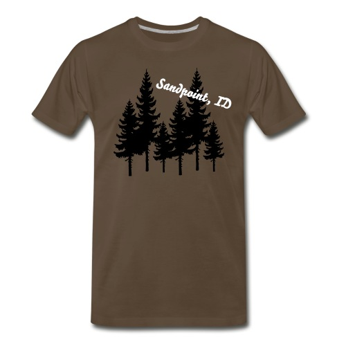 Sandpoint, ID - Mens - Men's Premium T-Shirt