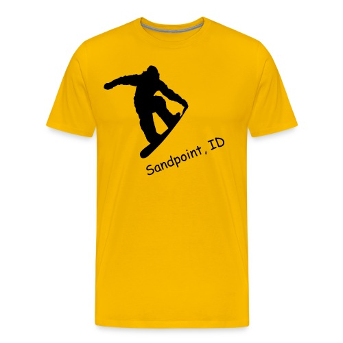 Ski Sandpoint - Mens - Men's Premium T-Shirt