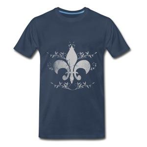 Fleur-de-lis - Men's Premium T-Shirt