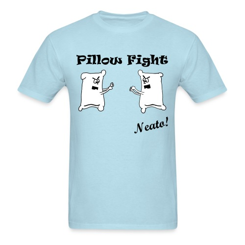 Pillow Fight - Men's T-Shirt