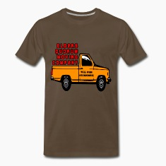 Chocolate Elders Quorum Moving Company LDS Mormon T-Shirts