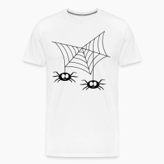 White Spiders in web T-Shirts